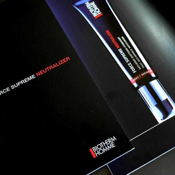 Dossier de presse Force Suprême Neutralizer pour Biotherm