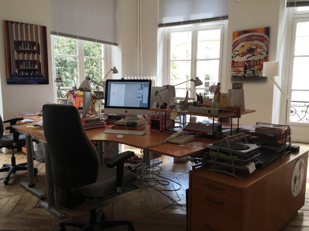 L'autreagence, les bureaux.