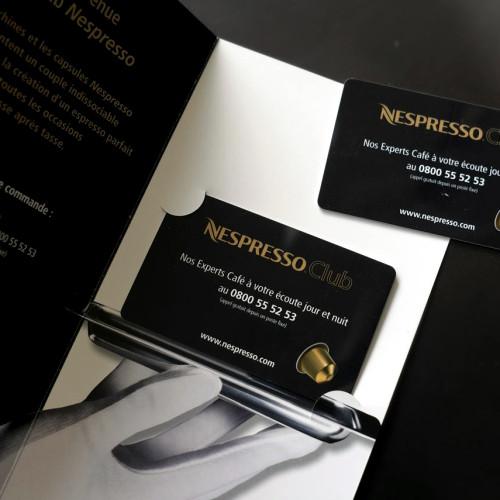 Carte service Nespresso