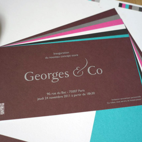 Invitation Georges & Co