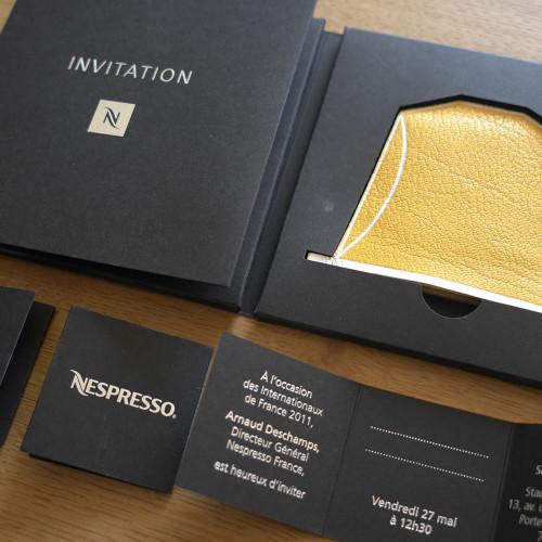 Invitation Roland Garros pour Nespresso