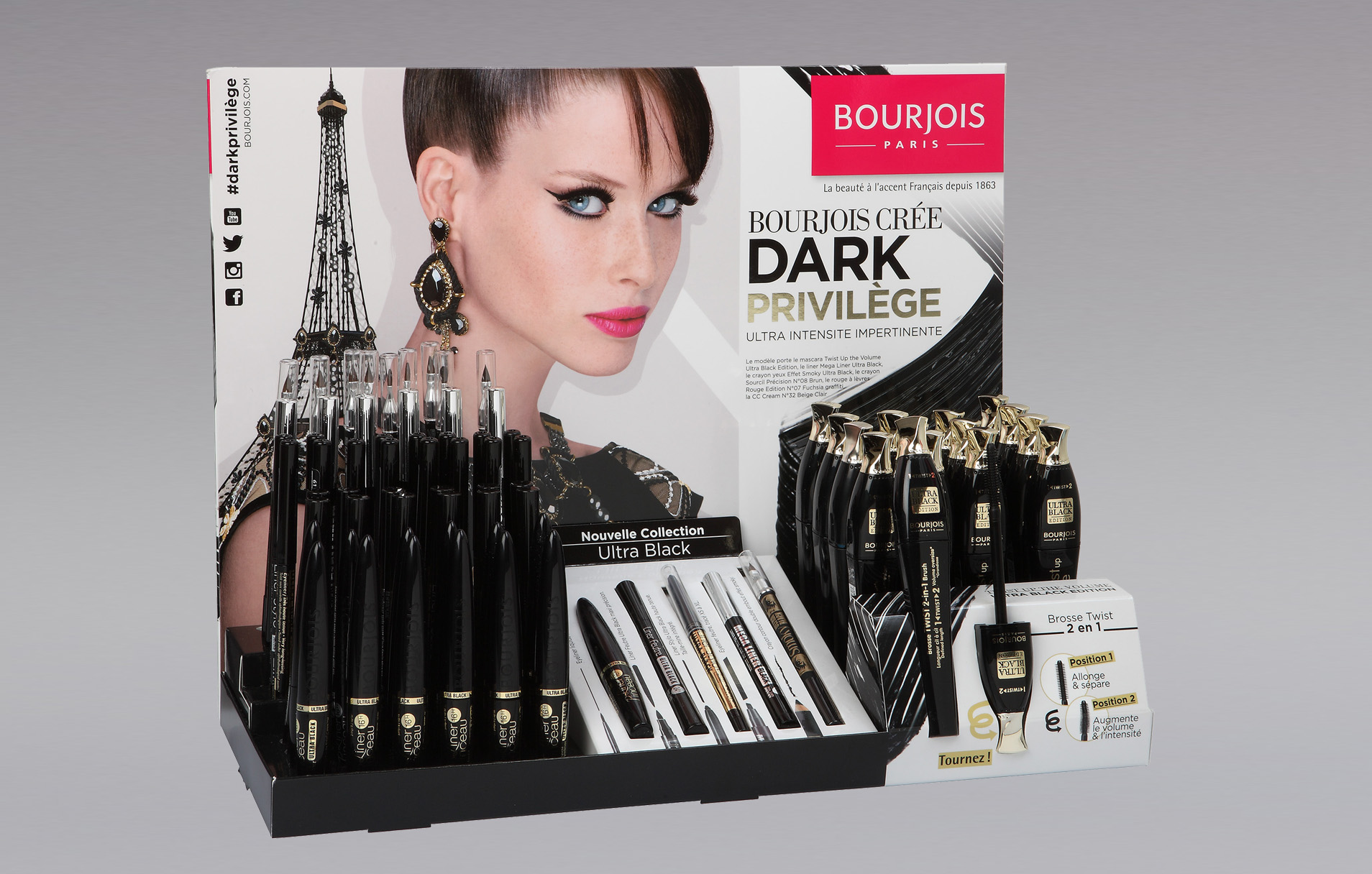 Présentoir Dark Bourjois
