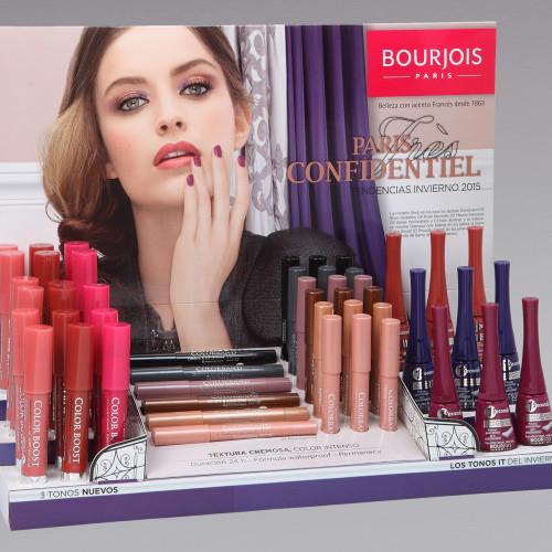 Présentoir Paris Bourjois